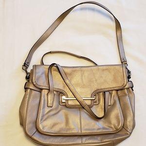 Coach Taylor Marin Leather Laptop Bag